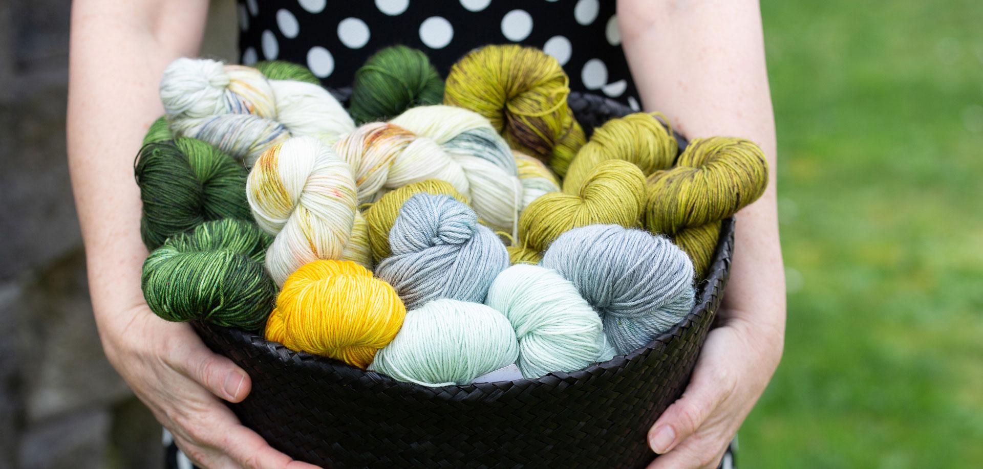 holding-yarn